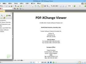PDF编辑器PDF-XChange Viewer v2.5.322.9官方安装版/绿色版/OCR语言包