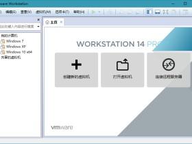 虚拟机 VMware Workstation Pro v15.5.2/v12.5.9/v10.0.6 绿色精简特别版