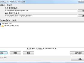 虚拟文件打包工具 Enigma Virtual Box v9.40 汉化去广告单文件版