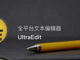 文本代码编辑器 UltraEdit v26.20.0.42 中文破解版