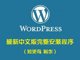 WordPress v5.53最新中文版完整安装程序(知更鸟)