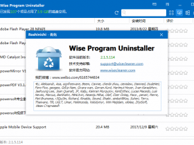 软件卸载工具Wise Program Uninstaller v2.3.5.139 官方中文免费版