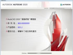 绘图软件Autodesk AutoCAD 2020简体中文精简优化版本(珊瑚の海)