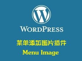 菜单添加图片 Menu Image v2.91 —— WordPress插件