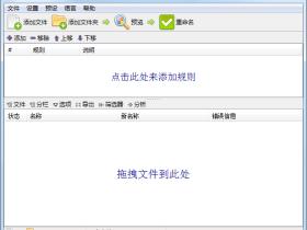 文件重命名工具 ReNamer v7.2 中文绿色便携专业版