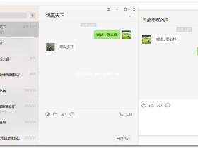 微信电脑版 v2.7.1.85 多开防撤回绿色特别版+纯净版