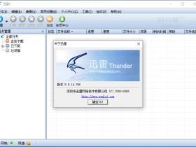迅雷 Thunder v5.8.14.706 去广告精简便携版(支持磁力链接)不限速、无视敏感资源