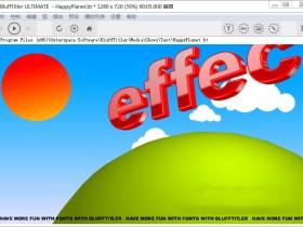 3D文字制作软件 BluffTitler Ultimate v14.6.0.2 中文破解版