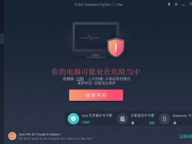 恶意软件查杀工具 IObit Malware Fighter Pro v7.3.0 中文破解版