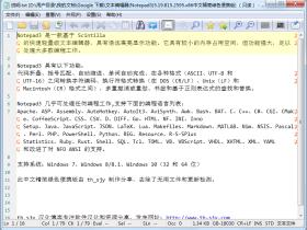 文本编辑器 Notepad3 v5.19.815.2595 中文精简绿色便携版