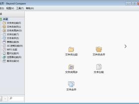 专业对比工具 Beyond Compare v4.3.4.24657 简体中文绿色特别版