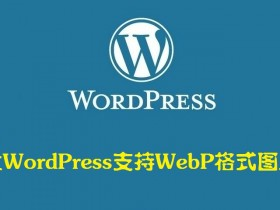 让 WordPress 支持 WebP 格式图片 —— WordPress教程